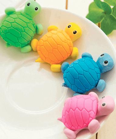 Unikke skildpadde viskelædere