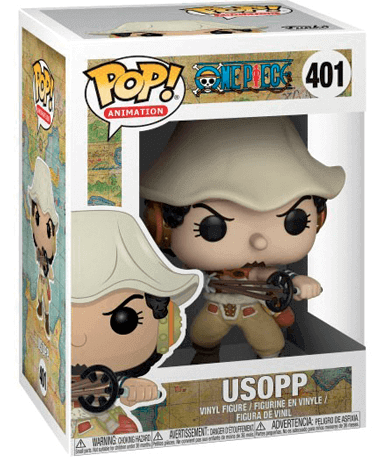 Usopp Funko Pop Figur – One Piece - I kasse