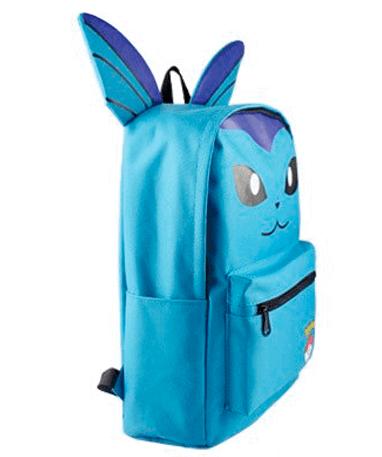 Vaporeon Skoletaske - Rygsæk – Pokémon GO - fra siden