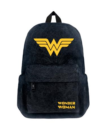 Wonder Woman Skoletaske - Rygsæk - Dc Comics