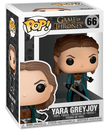 Yara Greyjoy Funko Pop Figur - Game Of Thrones - I kasse