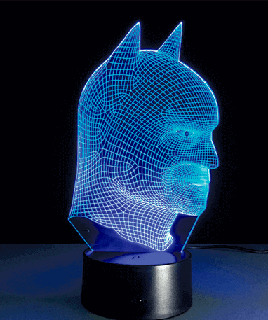 Image of   Batman 3D lampe