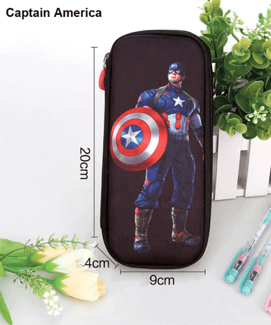 Image of   Captain America Penalhus - Marvel - lille penalhus