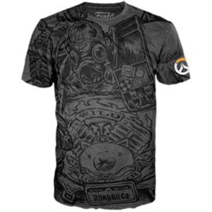 Roadhog t-shirt - Grå - Overwatch