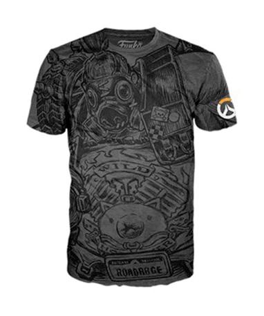 Roadhog t-shirt - Grå - Overwatch