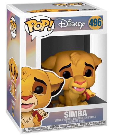 Simba Funko Pop Figur – Løvernes Konge - I kasse