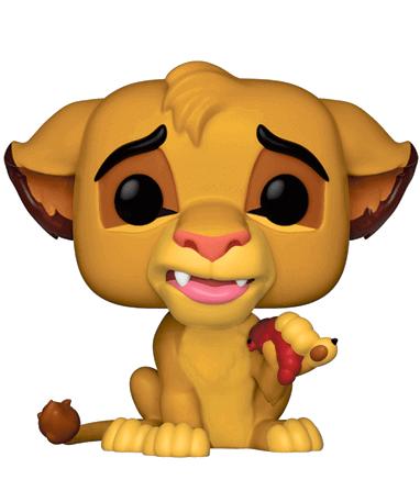 Ubrugte Simba Funko Pop Figur – Løvernes Konge - 1-2 Dages Fragt Til 29,- WV-99