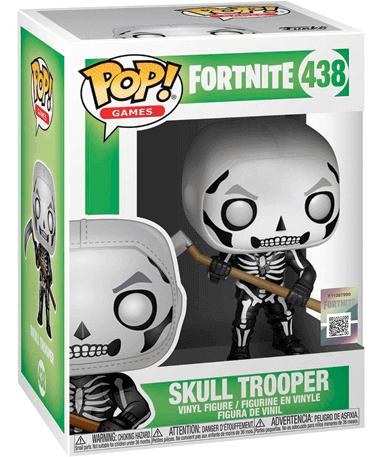 Skull Trooper Funko Pop Figur – Fortnite - I kasse