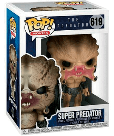 Super Predator Funko Pop Figur - I kasse