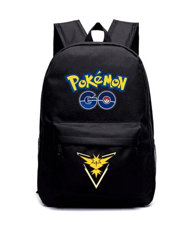 Team Instinct Skoletaske Rygsæk - Pokémon GO - Gul