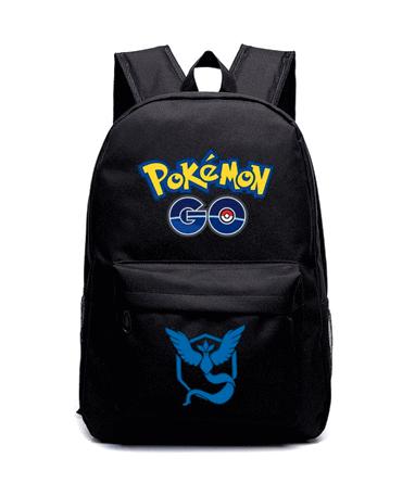 Team Mystic Skoletaske - Pokémon GO - Blå Hold