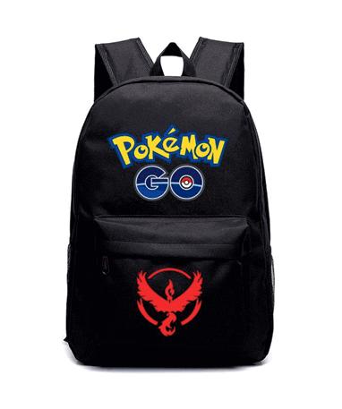 Team Valor Skoletaske - Pokemon GO - Rød