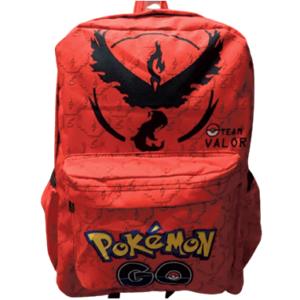 Team Valor Skoletaske - Rød taske Pokemon GO -