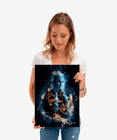 Daenerys Targaryen plakat - Metal - Game Of Thrones - Lille