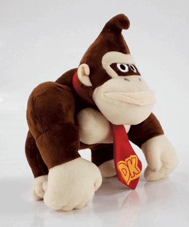 Donkey Kong bamse 25 cm - Super Mario - Fra siden