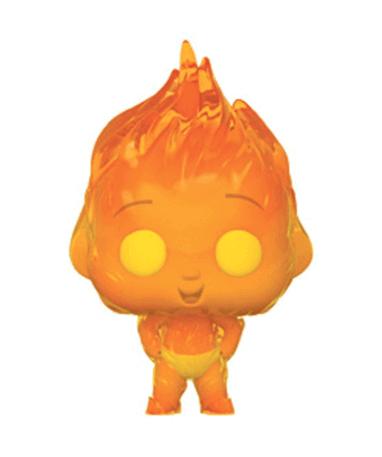 Fire Jack-Jack Funko Pop figur - De Utrolige 2