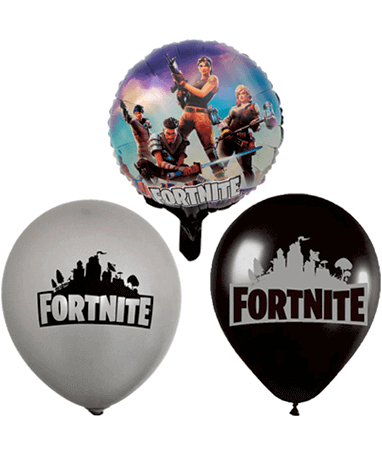 Image of   Fortnite balloner - 10 stk.