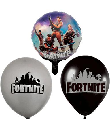 Fortnite balloner - 3 forskellige