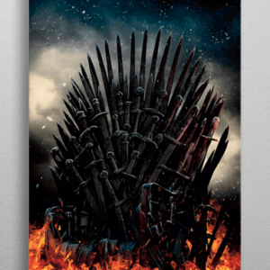 Game Of Thrones plakat - Metal