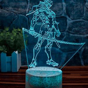 Genji 3D Lampe - Unik Overwatch lampe