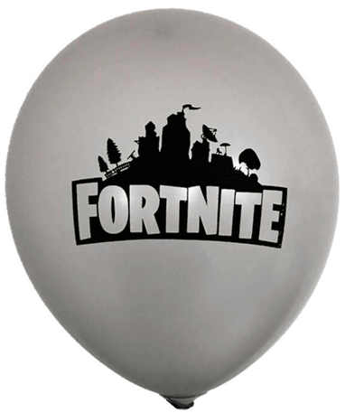 Grå Fortnite Ballon