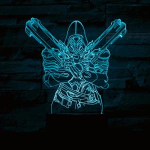 Reaper 3D lampe - Overwatch