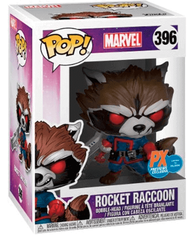 Rocket Raccoon Funko Pop Figur - GOTG