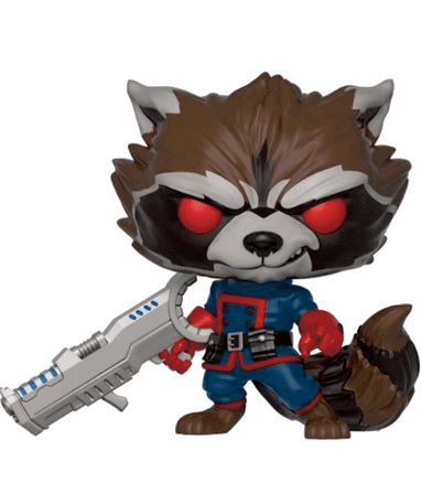 Rocket Raccoon Funko Pop Figur - Guardians Of The Galaxy