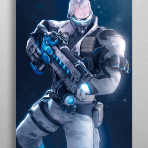 Soldier 76 plakat - Metal - Overwatch
