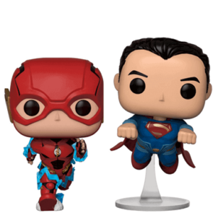 The Flash & Superman race Funko Pop figur - Justice League