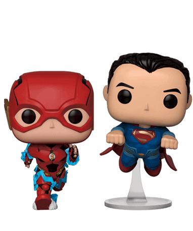 The Flash & Superman race Funko Pop figur - Justice League