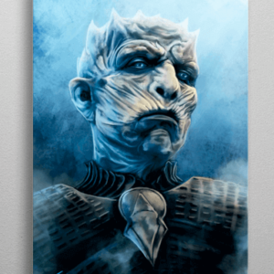 The Night King plakat - Metal - Game Of Thrones