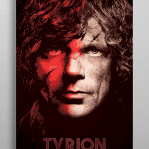Tyrion Lannister plakat - Metal - Game Of Thrones