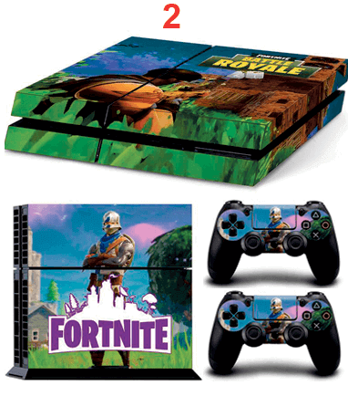 Image of   Fortnite Playstation 4 klistermærker - Design 2