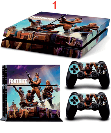 Image of   Fortnite Playstation 4 klistermærker