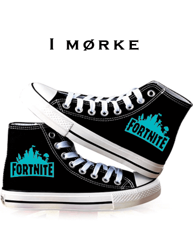 Fortnite sneakers i mørke
