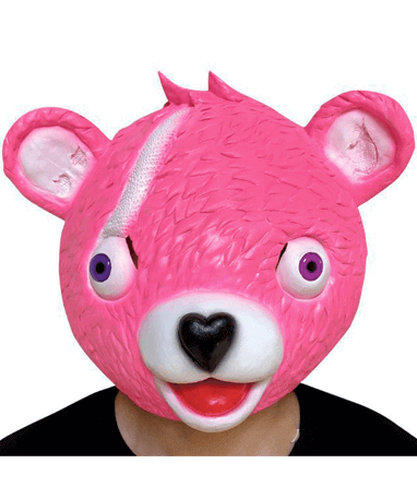 Image of   Fortnite Latex Masker - Cuddle Team Pink