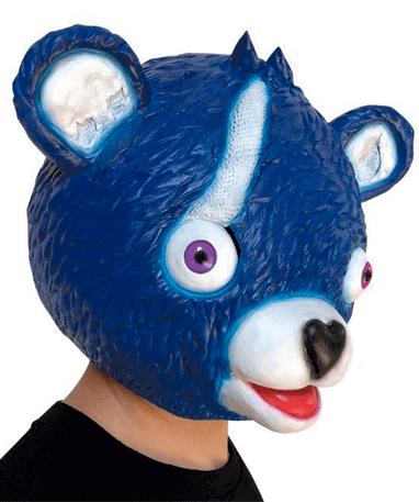 Fortnite cuddle team leader blå maske fra siden