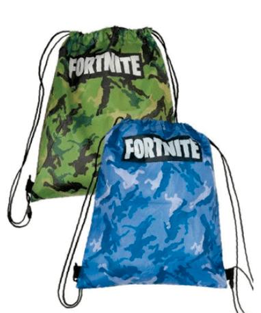 Fortnite sportstaske - Grøn & blå