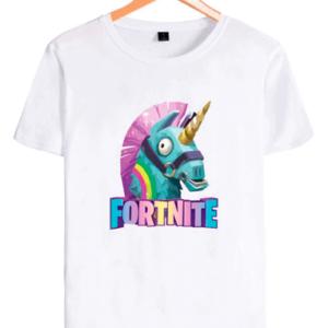 Fortnite Llama t-shirt til børn og unge - hvid Fortnite trøje