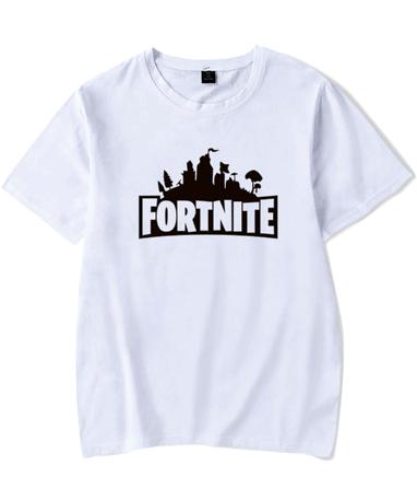 Fortnite t-shirt til børn og unge - hvid Fortnite trøje