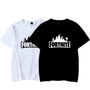 Fortnite t-shirts - Sort og hvid