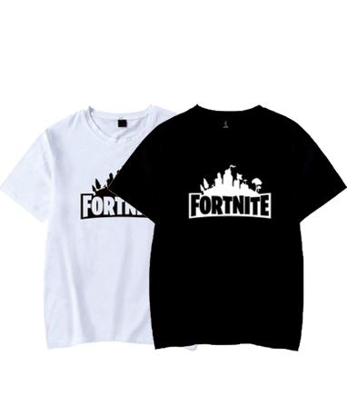 Fortnite t-shirts - Sort og hvid