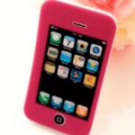 Rød iPhone