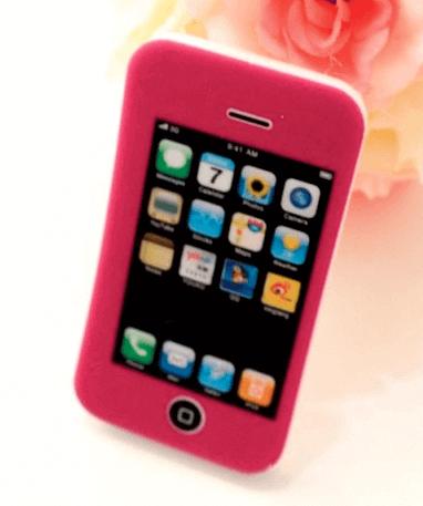 iPhone viskelæder - Rød