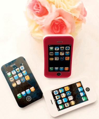 iPhone viskelæder