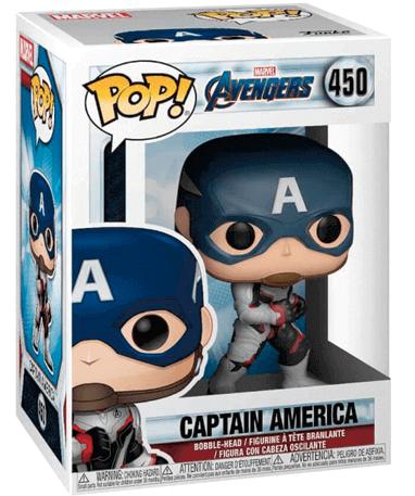 Captain America funko pop figur - Endgame - I kasse