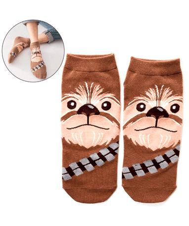 Image of   Chewbacca strømper / sokker