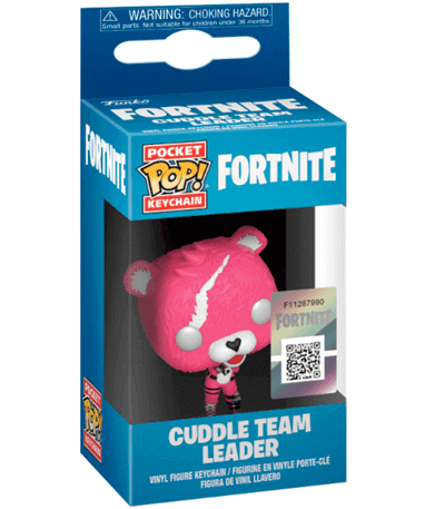 Cuddle Team Leader Nøglering Funko Pop - i kasse