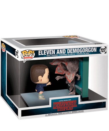 Eleven and Demogorgon Funko pop figur - I kasse